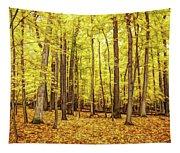 Fine Wine Cafe Golden Woods Tapestry