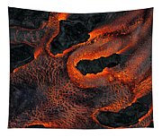Fingers Of Lava Tapestry