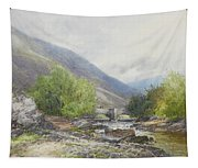 Fingle Bridge On The Teign Tapestry