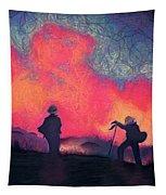 Fire Crew Tapestry by Joshua Morton