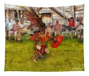 Fire Dance Tapestry