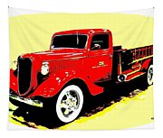 Fire Engine Ok Tapestry