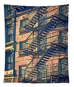 Fire Escape Tapestry