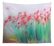 Fire-flowers-spring Tapestry