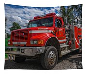 Fire Rescue Tapestry