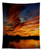 Fire Sky Tapestry