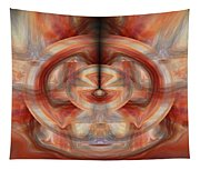 Fire Wheel Tapestry