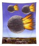 Fireballs Tapestry