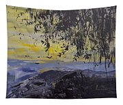 Fireflies Nocturne Tapestry