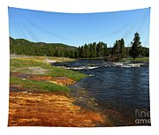Firehole River Colors Tapestry