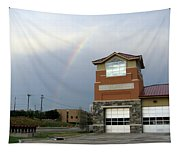 Firehouse Ranibow Tapestry