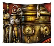 Fireman - The Steam Boiler  Tapestry