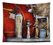 Fireman - An Assortment Of Nozzles Tapestry