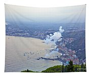 Fireworks Over Sicily Tapestry