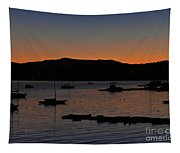 First Autumn Sunrise Freeze Tapestry
