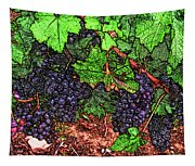 First Came The Grape Tapestry