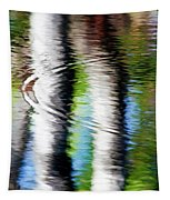 First Drop Water Reflection Tapestry