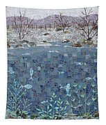 Fish And Winter Tapestry