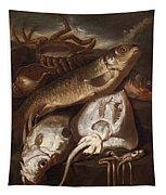 Fish Still Life Tapestry