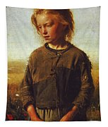 Fisher Girl Tapestry
