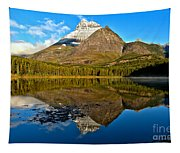 Fishercap Snowcap Reflections Tapestry
