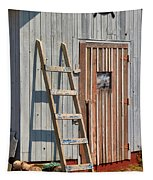 Fisherman's Shed In Prince Edward Island Tapestry