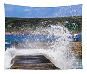 Fishing Beyond The Surf Tapestry