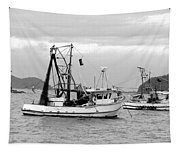 Fishing Boats At Pearl Beach 1.2 Tapestry