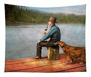 Fishing - Booze Hound 1922 Tapestry