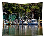 Fishing Fleet Tapestry