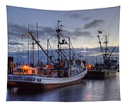 Fishing Fleet Tapestry