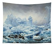 Fishing For Walrus In The Arctic Ocean Tapestry
