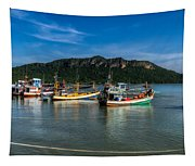 Fishing Harbour Tapestry