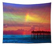 Fishing Pier Tapestry