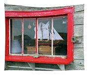 Fishing Shack Window 5998 Tapestry