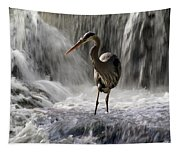 Fishing Time Tapestry
