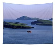 Fishing Trawler, Blasket Islands, Co Tapestry