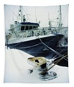 Fishing Trawler, Howth Harbour, Co Tapestry