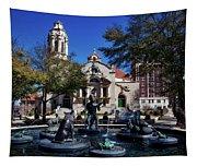 Five Points Fountain Tapestry