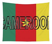 Flag Of Cameroon Word. Tapestry