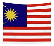 Flag Of Malaysia. Tapestry