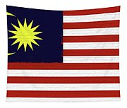 Flag Of Malaysia Wall. Tapestry