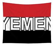 Flag Of The Yemen Word Tapestry