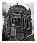 Flagler Memorial Presbyterian Church 3  B-w Tapestry