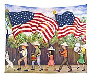Flags Tapestry
