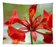 Flamboyant Beauty Tapestry