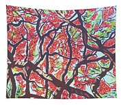 Flamboyant Beauty Tapestry