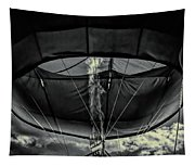 Flame On Hot Air Balloon Tapestry