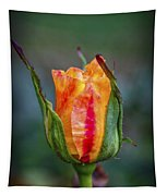 Flame Rose Tapestry