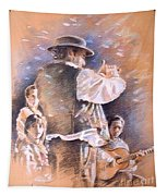 Flamenco Group Tapestry